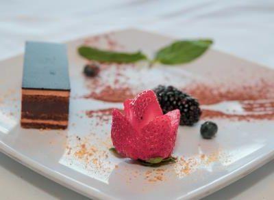 chocolate mousse truffle
