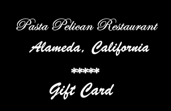 Pasta Pelican Gift Cards